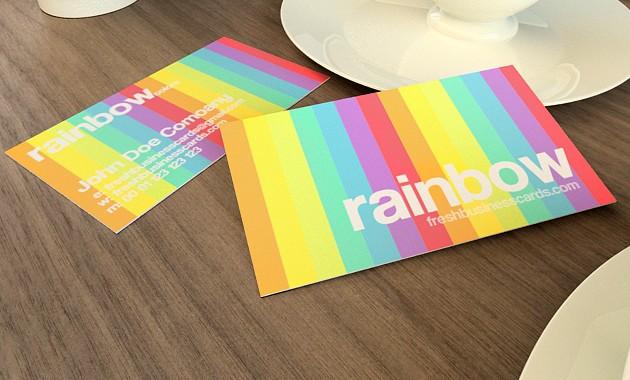 Comment choisir des couleurs appropriées pour sa carte de visite ?