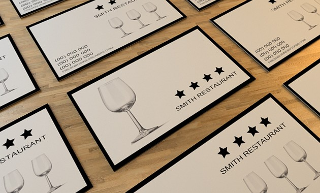 Carte de visite restaurant : des idées pour ranger ses cartes de visites