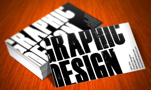 Carte de visite : faire appel à un designer