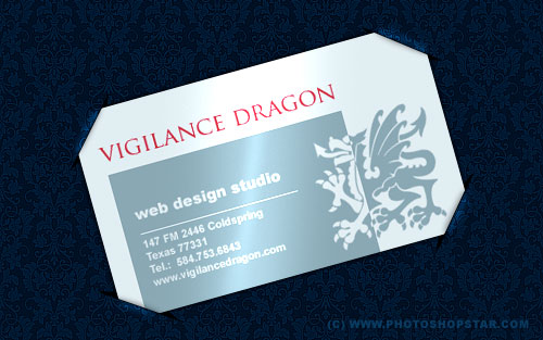Carte de visite dragon