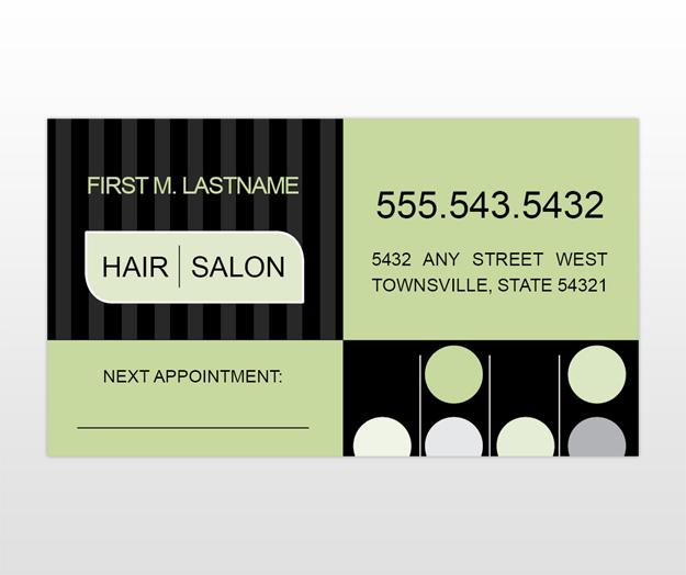 Carte de visite Hair