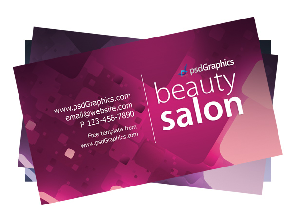 Carte de visite beauty salon