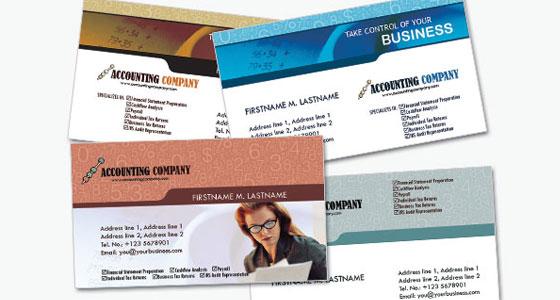 Carte de visite accounting