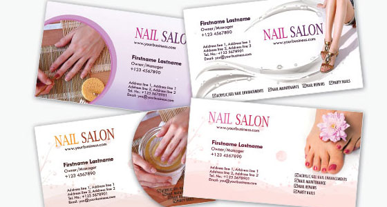Carte De Visite Nail Salon