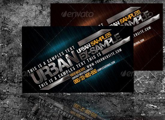 Carte de visite urban
