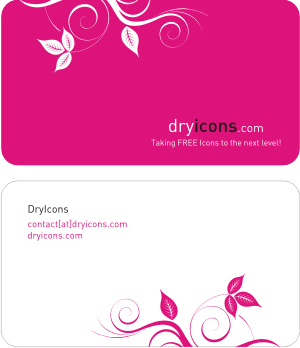 pink dry icon